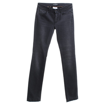 Dolce & Gabbana Skinny jeans in zwart
