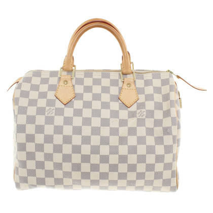 "Louis Vuitton ""Speedy 25 Damier Azur Canvas"""
