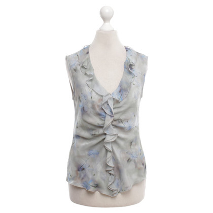 Armani Collezioni Top with flounces