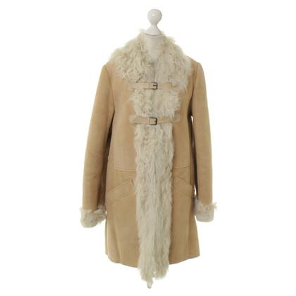 Comptoir des Cotonniers Cappotto montone beige