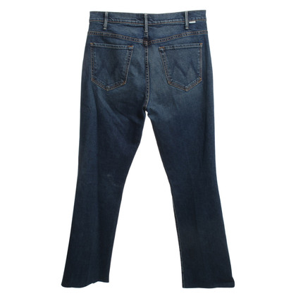 Mother Jeans in blu scuro
