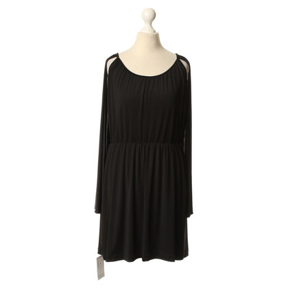 Halston Heritage Cape dress in black