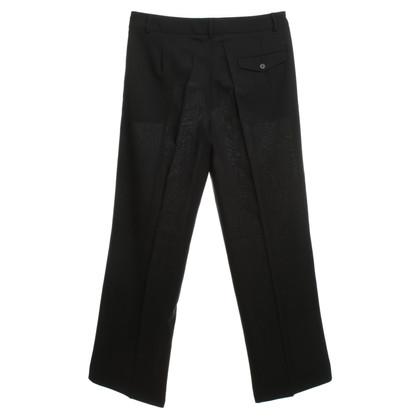 René Lezard Pantaloni tuta in nero