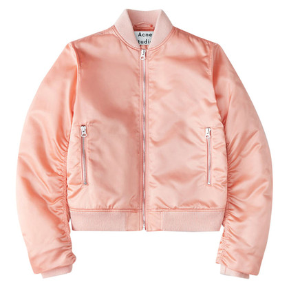 Acne Bomber jacket in Pale Pink