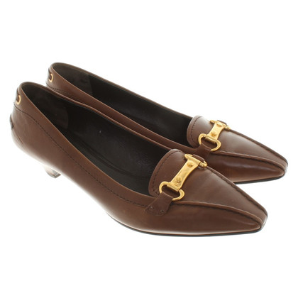 Car Shoe pumps in brown
