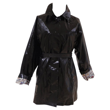 Louis Vuitton Schwarzer Trenchcoat