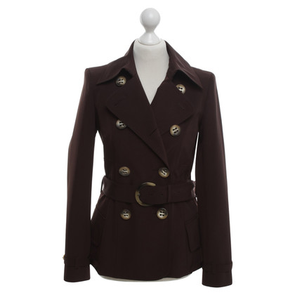 Aigner Breve trench in marrone scuro