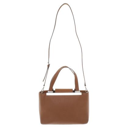 Michael Kors Leder-Handtasche in Braun
