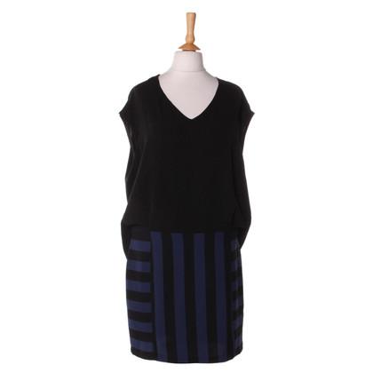 Sandro Kleid mit Streifenmuster
