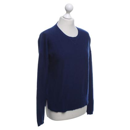FTC Kaschmir-Pullover in Blau