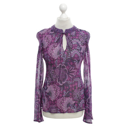 Escada Top met patroon