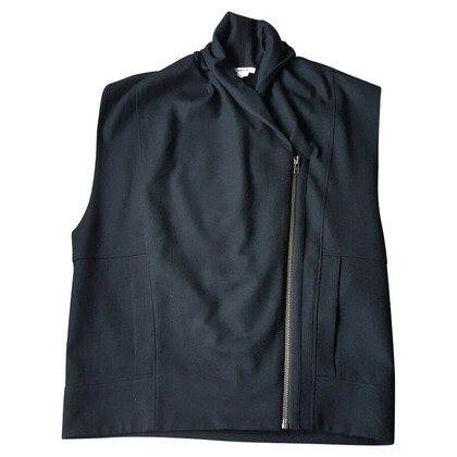 Helmut Lang Black sleeveless cardigan