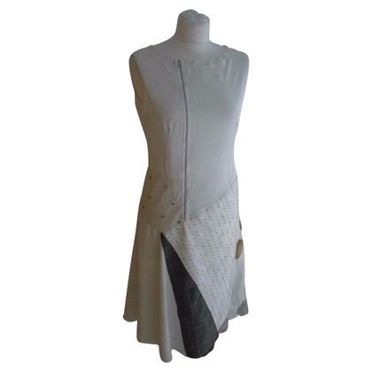 Marithé et Francois Girbaud Dress in patchwork style