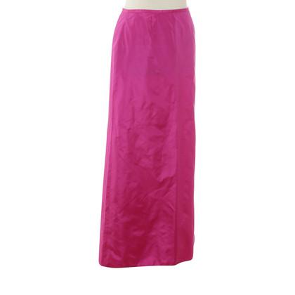 Blumarine Gonna in seta rosa