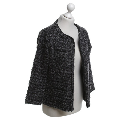 Clements Ribeiro Bouclé jacket in grey / black