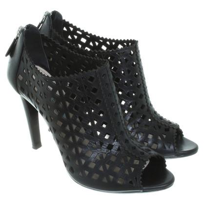 Prada Black peep-toes