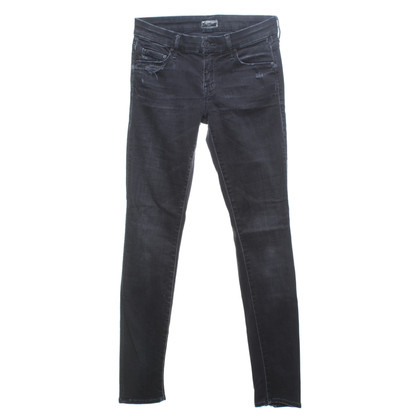 Mother Jeans in Schwarz