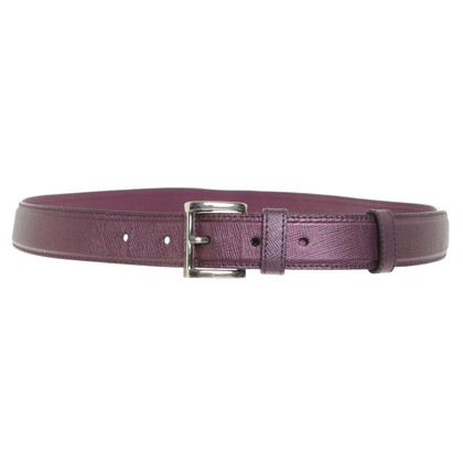 Prada violet riem