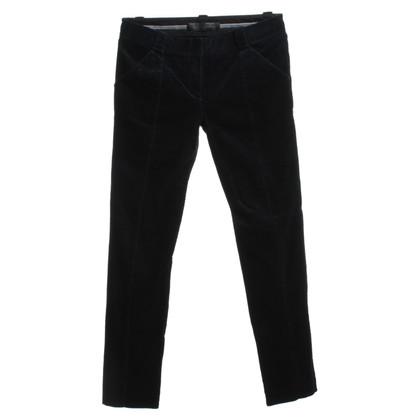 Proenza Schouler pantaloni di velluto a benzina