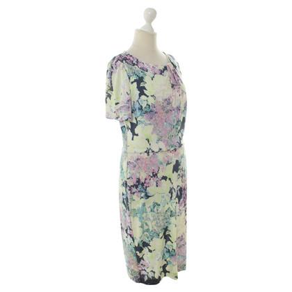 Erdem Sommerkleid mit floralem Muster