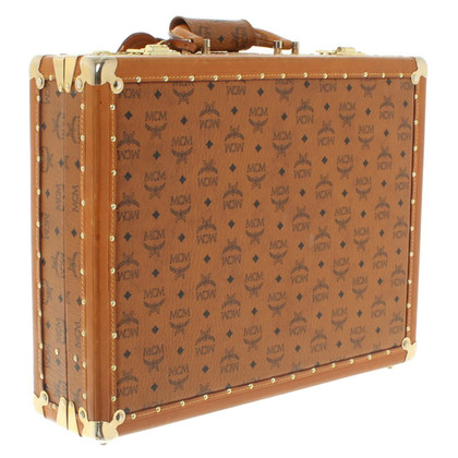MCM Briefcase with Visetos print