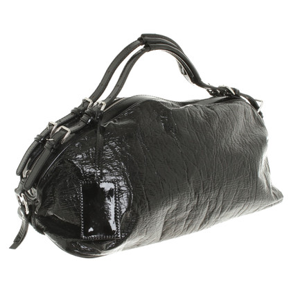 Dolce & Gabbana Black patent leather handbag