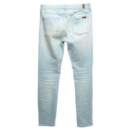 7 For All Mankind Jeans in Hellblau