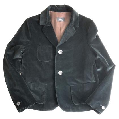 A.P.C. Kort jasje in fluweel