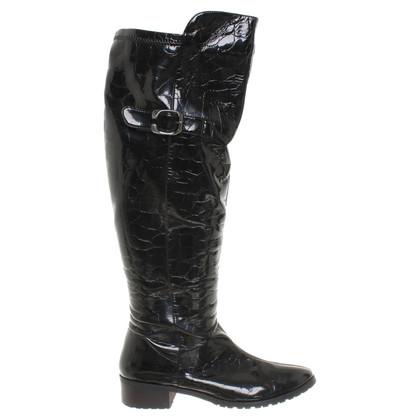 Marina Rinaldi Patent leather boots