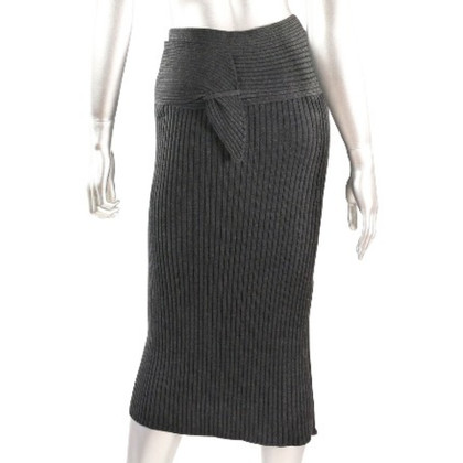 Jean Paul Gaultier Knitted skirt with belt loop