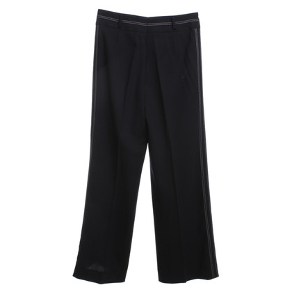Escada Trousers in dark blue