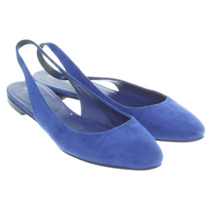 Jil Sander Ballerina's in blauw