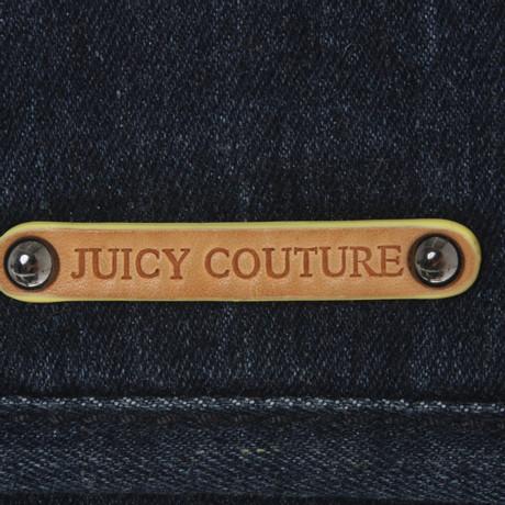 Juicy Couture Umhängetasche aus Denim Blau Authentisch ug7AnLU
