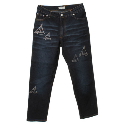 Blumarine Jeans with application