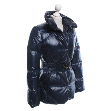 Fay Quilted jacket in dark blue
