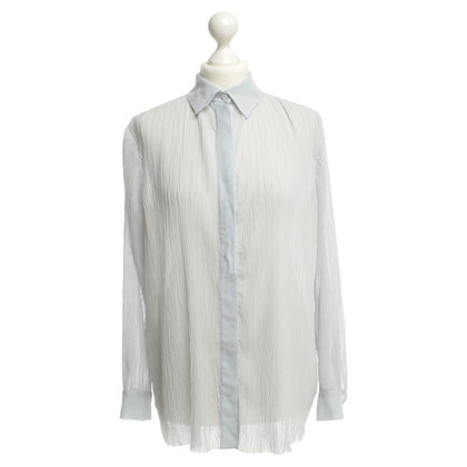 Kilian Kerner Light blue crease blouse