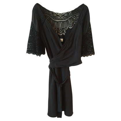 Temperley London Black Temperley Dress T.38