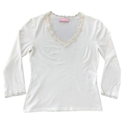 St. Emile Shirt top / Pailettenbesatz