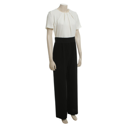 Max Mara Jumpsuit in black white