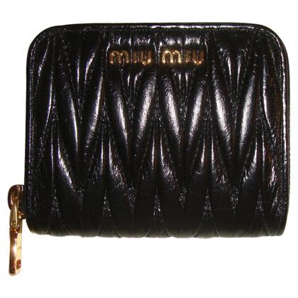 Miu Miu Wallet in Matelassé Lux