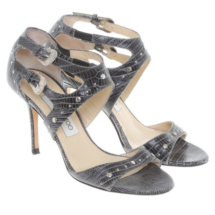 Jimmy Choo Sandals made of reptile leather