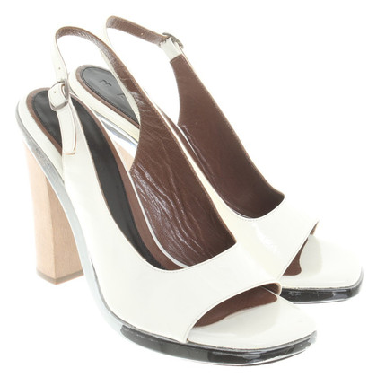 Marni Slingback pumps in het wit