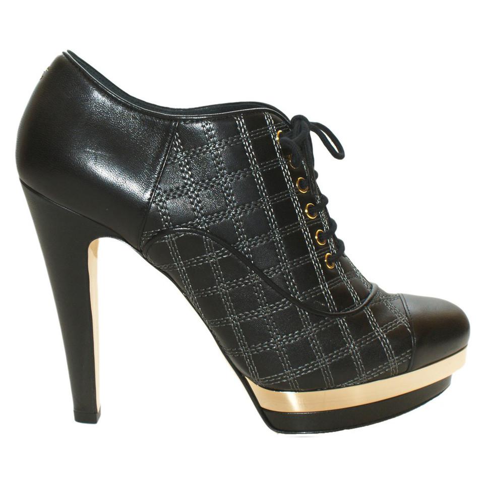 Chanel Ankle Boots zum Schnüren