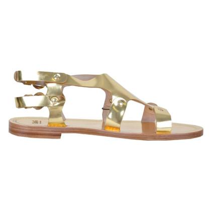 D&G Sandaletten in Gold