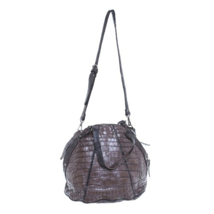 Giorgio Brato Reptile leather handbag