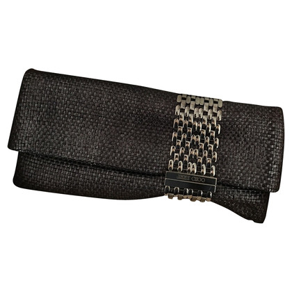 Jimmy Choo Zilver clutch tas