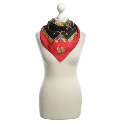 Hermès Silk scarf with printed motif