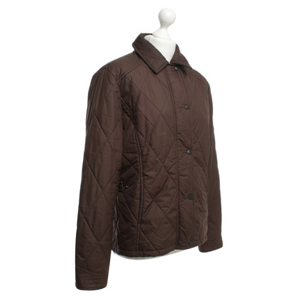 Barbour Giacca trapuntata in marrone