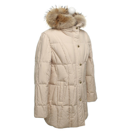 Basler Down jacket with fur collar