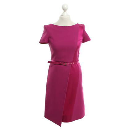 Matthew Williamson Schede jurk in fuchsia